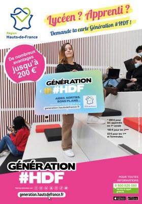 génération haut de france carte Carte Génération HDF : Hauts de France — Français